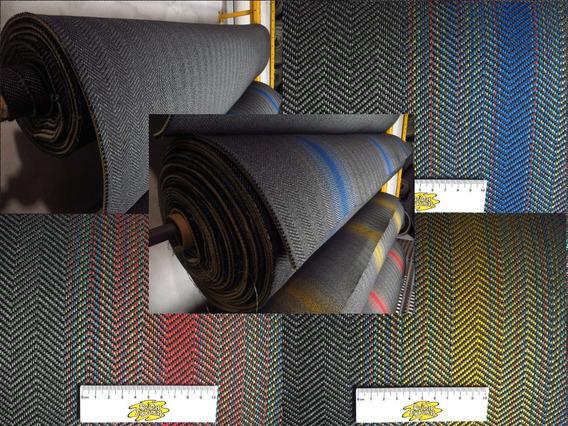 Tecido Recaro Gol Gti Laguna Kit 2m Liso 2m Listrado Banco