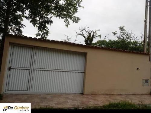 Imagem 1 de 8 de Chácara Em Mongaguá , Agenor De Campos , Isolada , Lado Morro ,murado, 02 Dormitórios, Sala - 5034 - 68198288