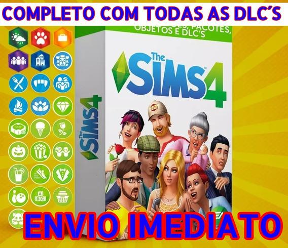 The Sims 4 - Todas As Expansões - Digital Pc - Promoção!!