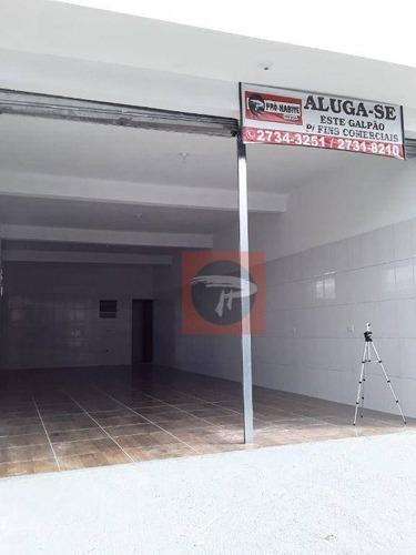 Imagem 1 de 4 de Salão Para Alugar, 80 M² Por R$ 900/mês - Vila Gil - Entre No Tour E Faça Um Passeio Virtual. - Sl0023