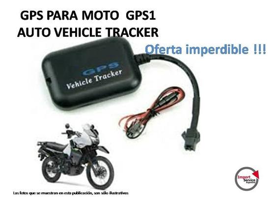 Gps Para Moto Gps1 Auto Vehicle Tracker Oferta Imperdible!