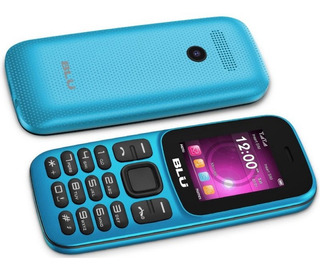 Celular Blu Z5 Z211 Dual Sim 1.8 Rádio Fm - Cor Ciano