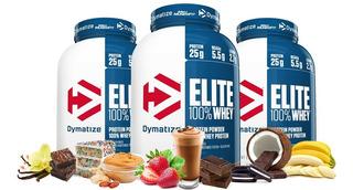 Whey Elite 100% Dymatize 5lbs-sabores