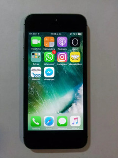 iPhone 5s 16gb Space Gray Seminovo Desbloqueado