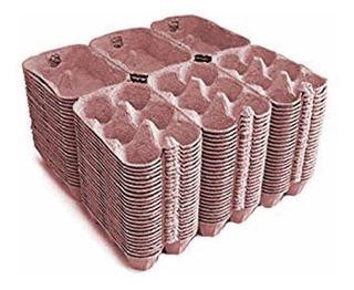 100 Cajitas Nuevas Para Empaque De 6 Huevos