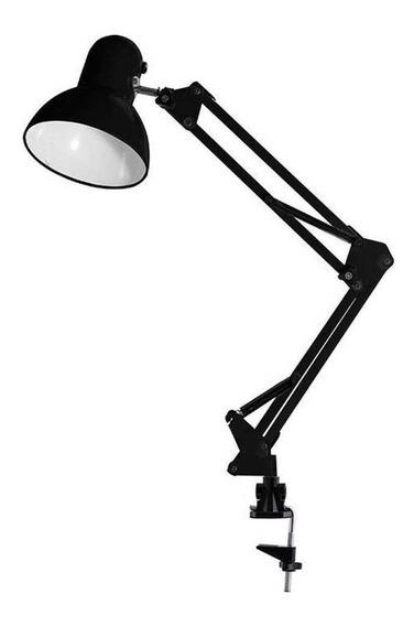 Luminária/abajur Articulável Com Clipe Ajustável Bivolt