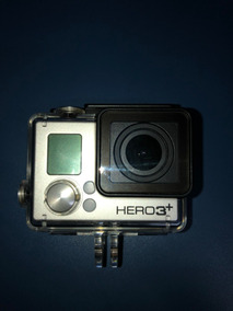 Gopro Hero 3+ Black 4k Camera Usada+carregador Duplo+bateria