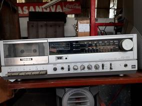 Toca Disco Vitrola K7 Rádio Am/fm Semp Toshiba Sm-200 C.1946