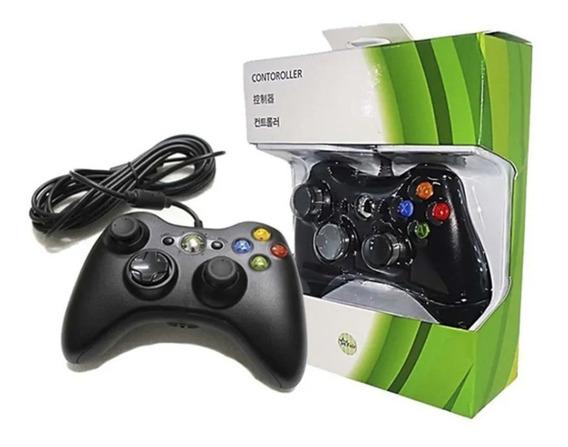 Controle Joystick Para Xbox Compatível Com Fio Usb