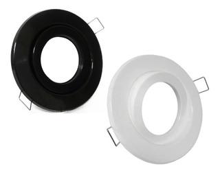 Spot Embutir Movil Pvc Blanco/negro Apto Dicroica Led No Se Oxida Jamas !