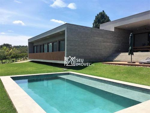 Casa Com 4 Dormitórios À Venda, 400 M² Por R$ 5.400.000,00 - Condomínio Terras De São José Ii - Itu/sp - Ca2020