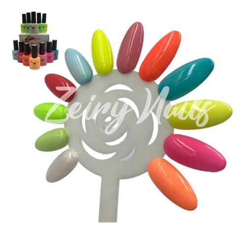 Imagen 1 de 3 de Gel Miss Cherry Gama X Semipermanente 12 Colores 10ml