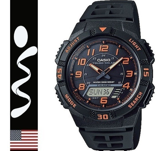 Reloj Casio Tough Solar Aq-s800 Digital Analogo 100% Origina