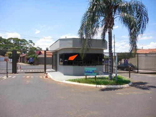 Casa Com 2 Dormitórios À Venda Por R$ 325.000 - Jardim Aeroporto - Ribeirão Preto/sp - Ca1553