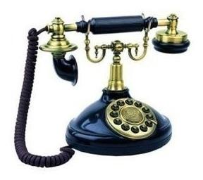 Teléfono Con Cable Viscount 1920 Retro