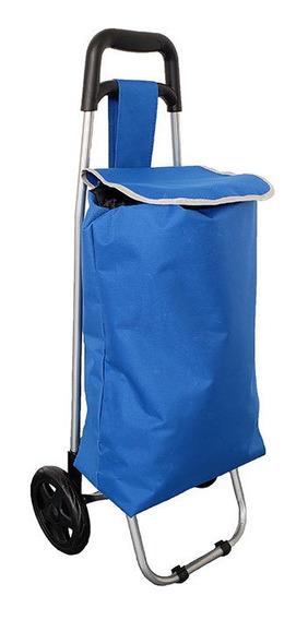 Carrito De Mercado - Azul