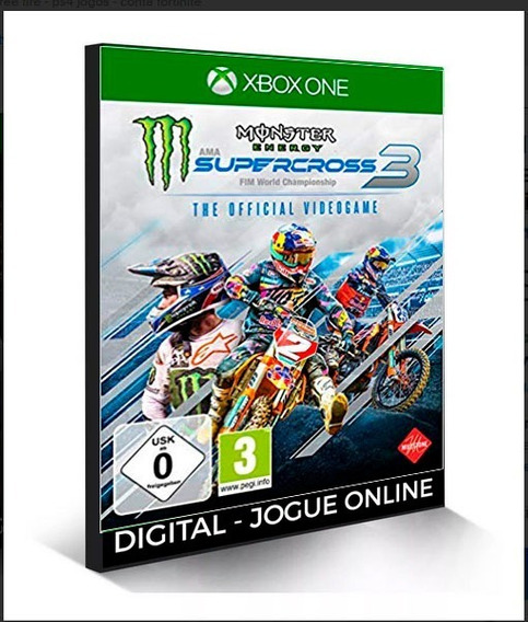 Monster Energy Supercross 3 - Special Edition X Box One