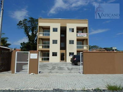 Apartamento Residencial À Venda, Balneário Brasilia, Itapoá. - Ap0856