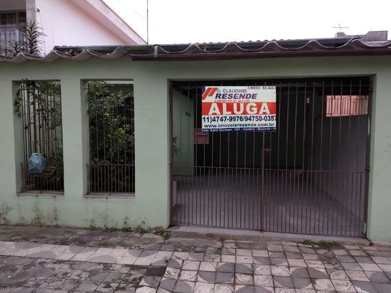 Casa Para Alugar 2 Dormitórios Centro Suzano Cl-0003