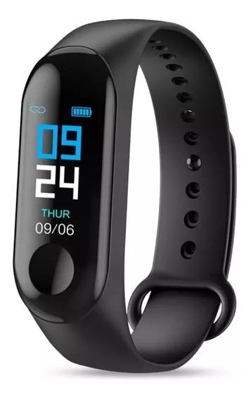 Relógio Inteligente Smartband Pulseira Monitor Cardíaco