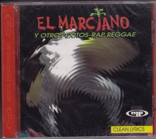 Cd El Marciano Y Otros Exitos Rap Reggaeton Cocoman