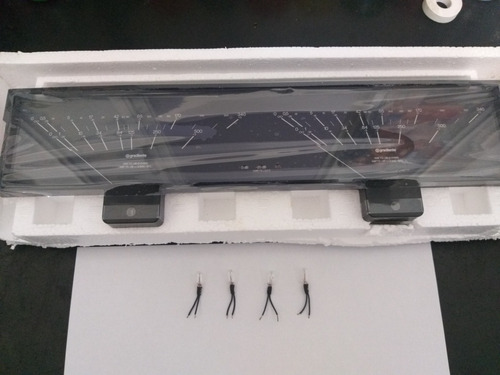 Vu Meter Ha 2 + 4 Lampas  Esotech Gradiente Amplificador