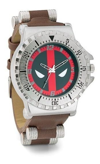 Reloj Marvel Deadpool Original Thingeek Caballero Xmen