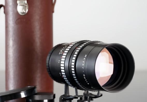 Lente Meyer Orestegor 200mm\15lamin + Adapt. Canon Ef-mount