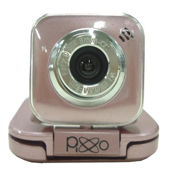 Webcam Com Microfone 20 Megapixels Aw154vppix Pixxo Ótima!!!