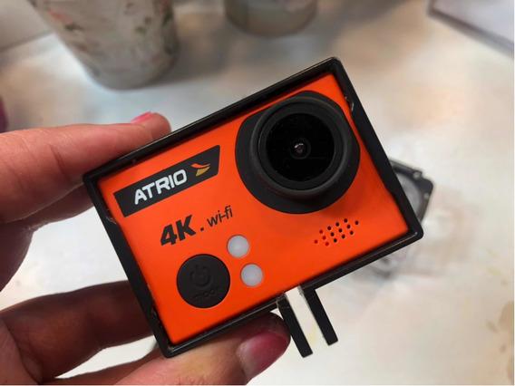 Câmera Átrio 4k - Com Case A Prova Dagua