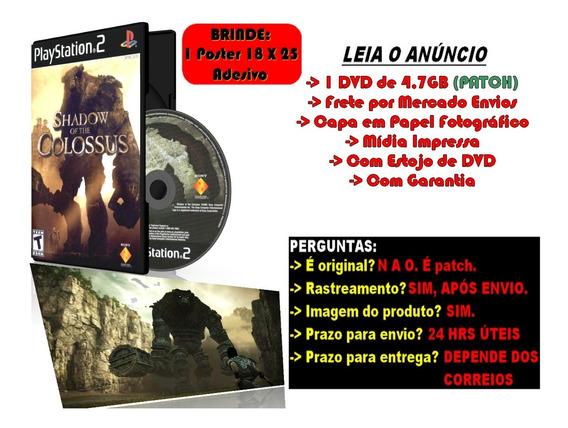 Shadow Of The Colossus Para Ps2 + Brinde