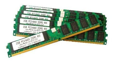 Memorias Ddr2 2gb 800mhz Pc2 6400 Garantia!!!!!!!!!