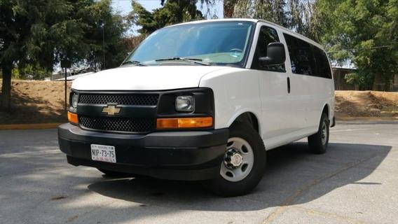 Chevrolet Express 5p Ls V8/6.0 Aut 12/pas