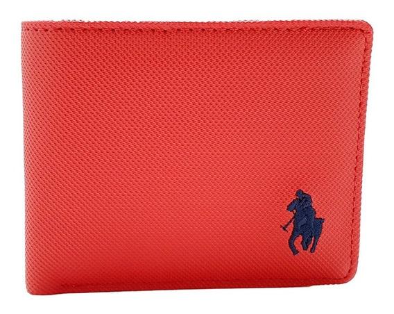Cartera Hpc Polo Passcase Roja
