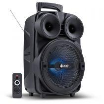 Caixa Som Amplif Vinik 8 Bluet Usb/mic Bat 100w