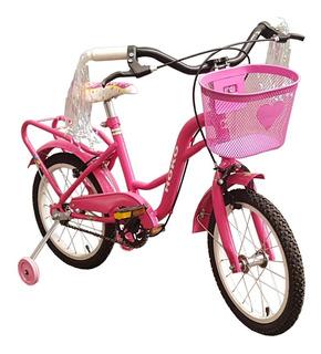 Bicicleta Rodado 16 Niña - Hoko