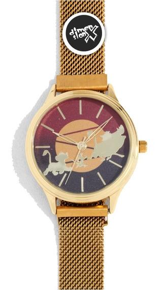Reloj Hakuna Matata Del Rey Leon Disney Original Accutime