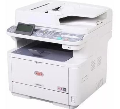 Impressora Multifuncional Okidata Mb491+