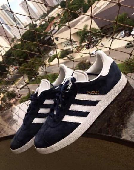 Tênis adidas Gazelle Original , Azul Cobalt , No Tamanho 40