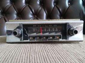 Radio Antigo Philco Metal Cromado