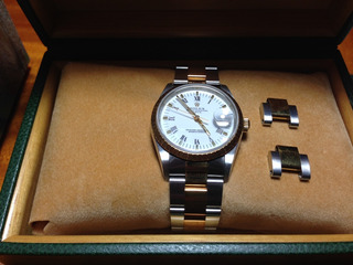 Rolex Oyster Perpetual Date Acero Y Oro Ref. 15223