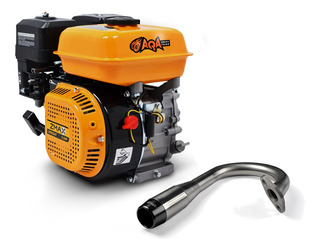 Motor P/ Drift Trike 7 Hp 4 Tempos, Escapamento Inox Grátis