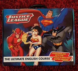 Curso De Inglés Liga De La Justicia. Nuevo. Original. Envío