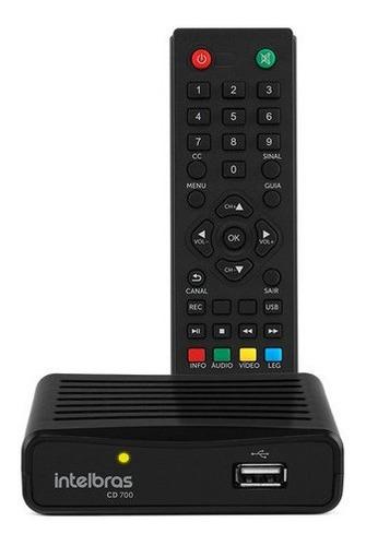 Imagem 1 de 4 de Conversor Digital Tv Hd E Gravador Cd700 Intelbras