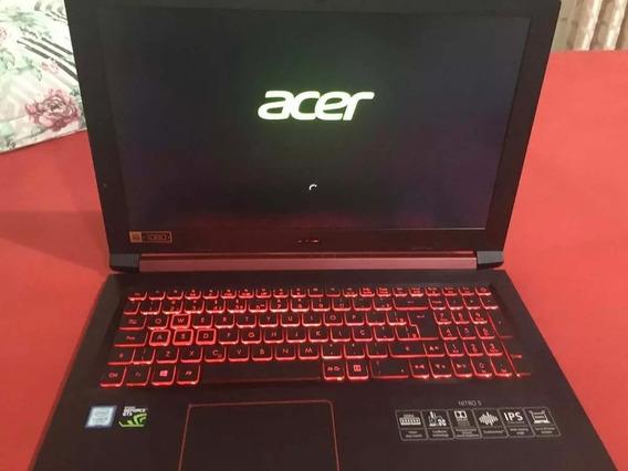 Notebook Acer Nitro 5,processador I5,8gb De Ram,gtx1050 4gb