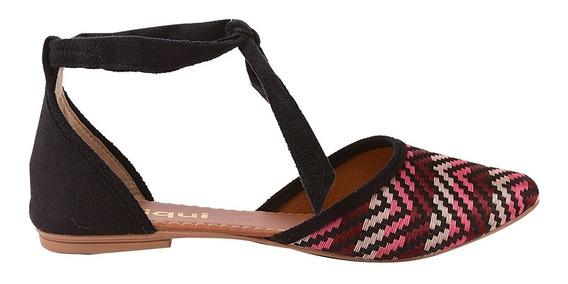 Sapatilha Sapato Feminina Chiquiteira Chiqui/5408