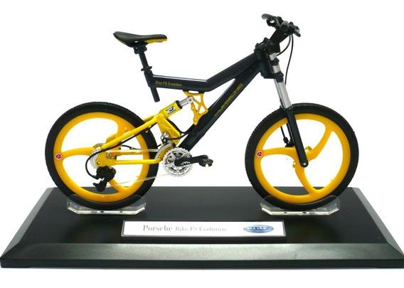 Miniatura Bike Bicicleta Porsche Fs Evolution Coleção 1:10