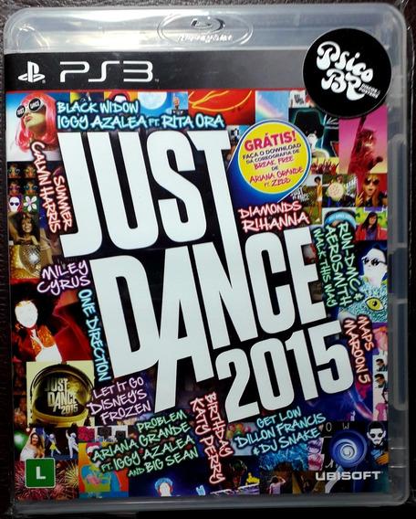 Jogo Just Dance 2015 Psicobr Nacional Ps3 Playstation Game