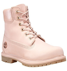 Botas Timberland Mujer Rosa Waterproof Boots Tb0a1hl6662
