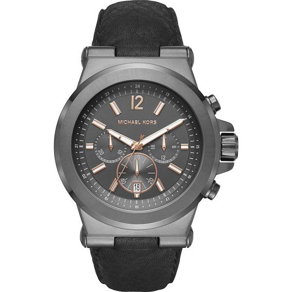 Relógio Michael Kors Mk8511 Dylan Orig Chron Anal Grey